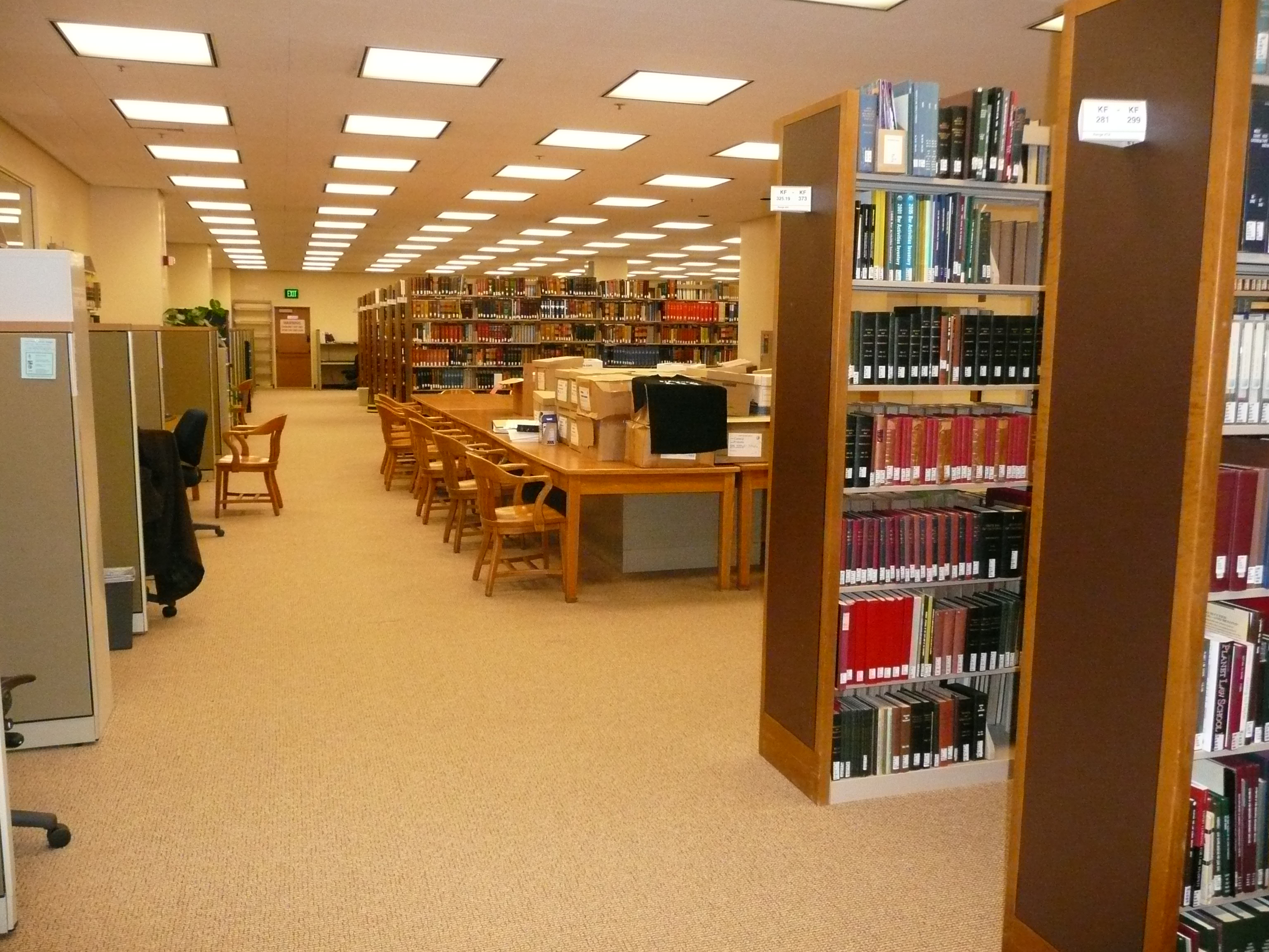 Stanford Law School Library Stanford University | ...