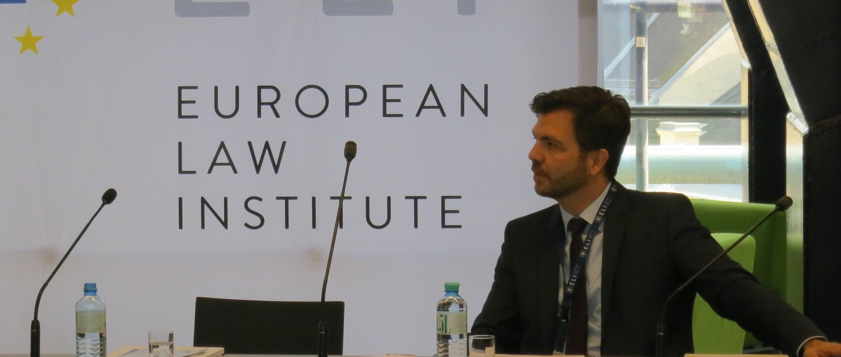 ELI-Projekt zum Europäischen Sanierungsrecht – ein erster Meilenstein